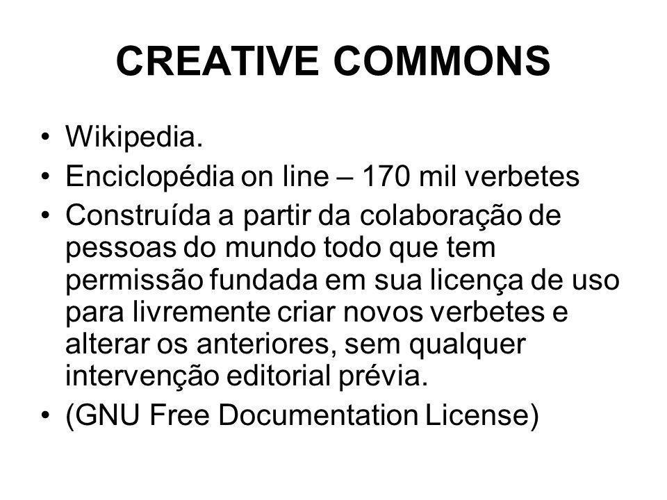 CREATIVE COMMONS Wikipedia.