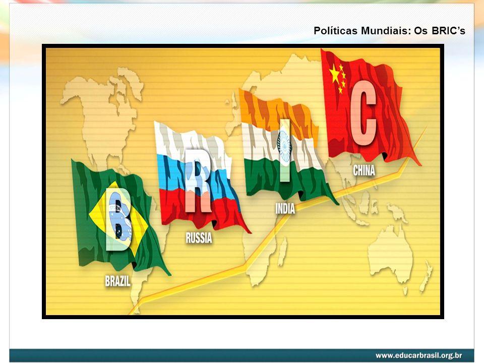 BRIC é um acrônimo criado em novembro de 2001 pelo economista Jim O´Neill, do grupo Goldman Sachs.