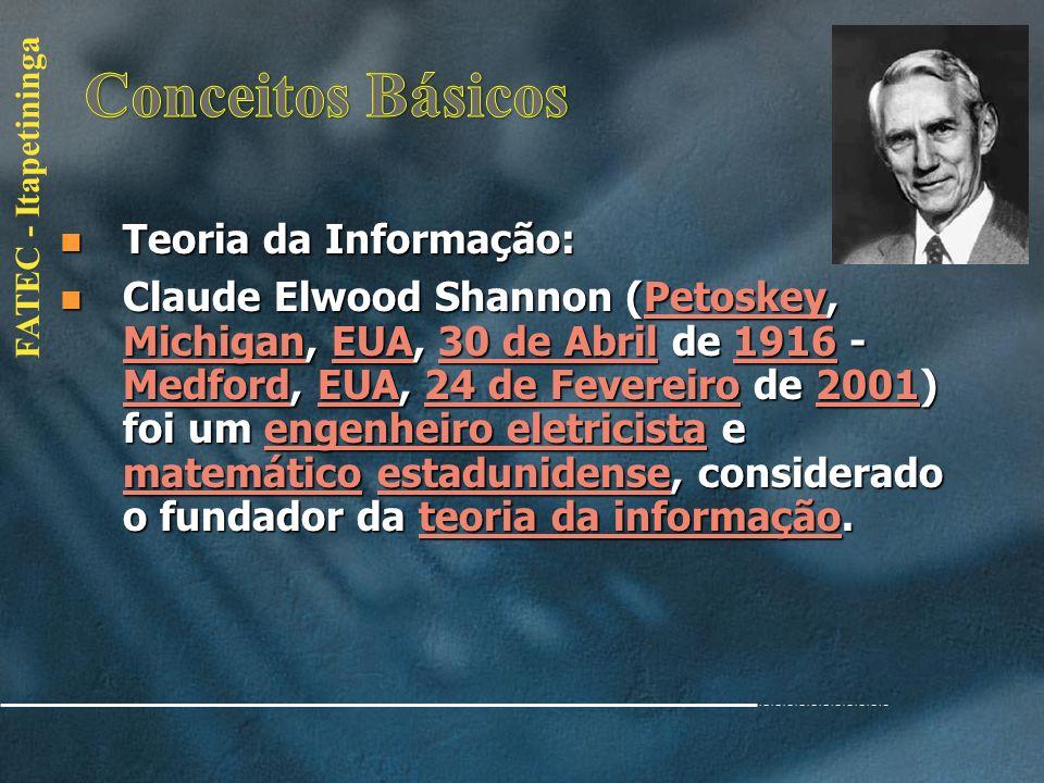 FATEC - Itapetininga Teoria Geral de Sistemas(TGS): Teoria Geral de Sistemas(TGS): Conceito: Conceito: Sistema é um conjunto de partes coordenadas, fo