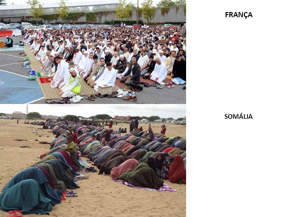 DIVISÕES NO ISLÃ Xiitas Os xiitas, contrariamente à maioria dos muçulmanos que são sunitas, acreditam que o legítimo sucessor do Profeta Maomé é seu genro Ali.