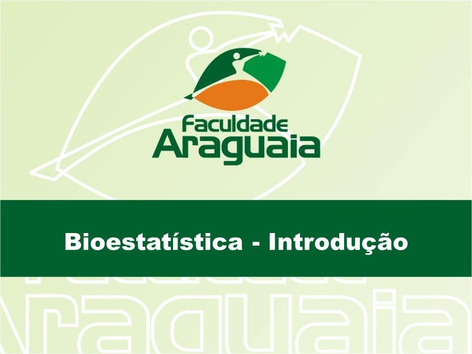 Bioestatística Constante Vs Variável Tipos de variáveis: Variáveis categóricas; subtipo binária; Variáveis quantitativas; Discretas (contagens) ou contínuas (medições) Variáveis independentes e dependentes.