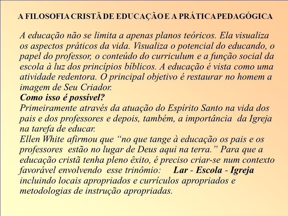 A FILOSOFIA CRISTÃ E O DESENVOLVIMENTO DO CARÁTER Conhecimento Moral 1) Consciência dos Valores 2) Conhecimento dos Valores 3) Prática dos Valores 4)