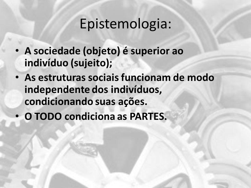 Epistemologia Racionalidade com os tempos modernos as relações das pessoas com o mundo- relações políticas, econômicas, sociais, religiosas- foram sendo impregnadas por um jeito racional de agir.