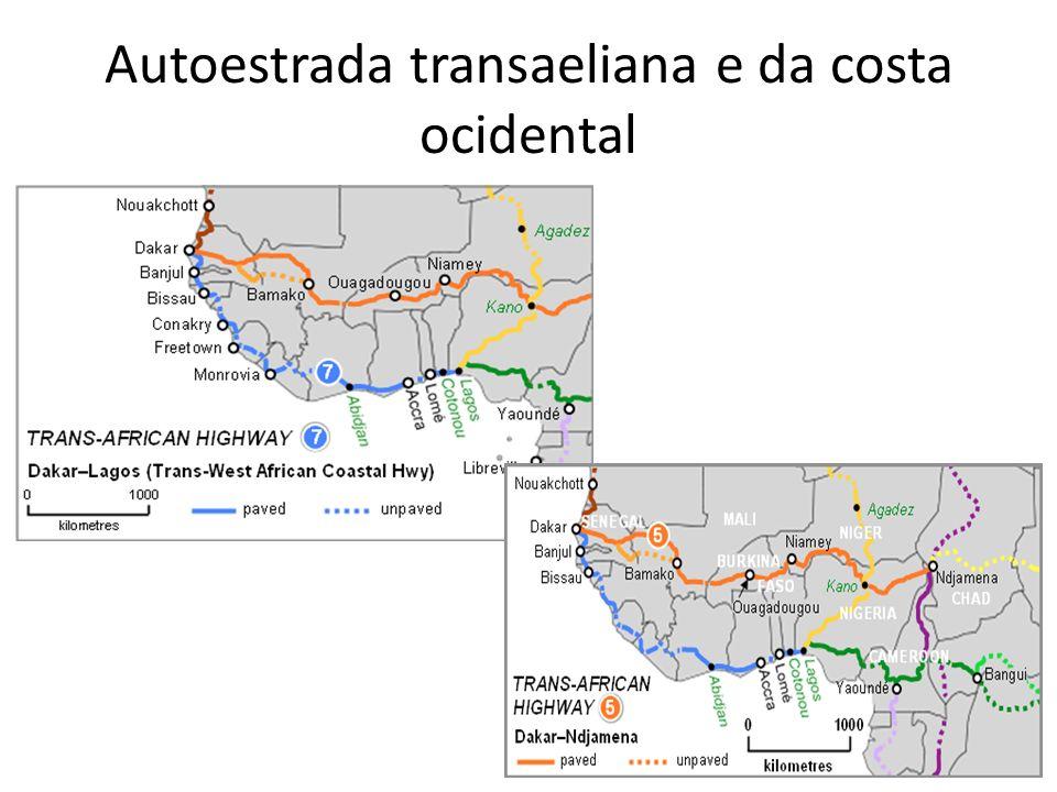 Autoestrada transaeliana e da costa ocidental