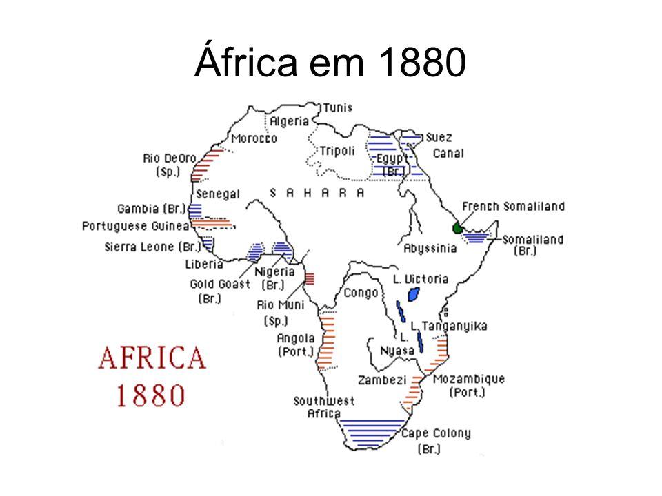 África em 1880