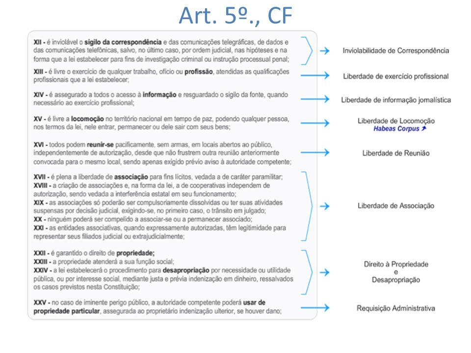 Art. 5º., CF