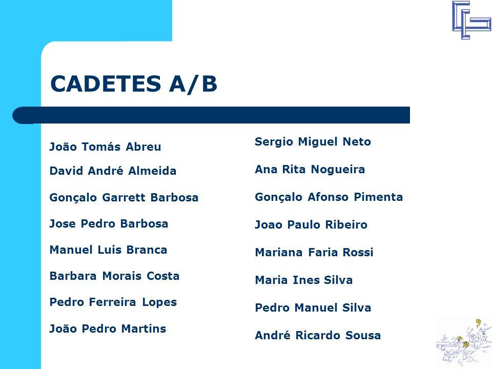 CADETES - PROVAS * Torregri 1: Serão seleccionados 16 nadadores Masculinos e 16 nadadores Femininos, os mais pontuados pela tabela FINA, no somatório dos pontos obtidos nas 2 provas (200 m Estilos/400 m Livres) para uma acção de formação que realizar-se-à a 29 e 30 de Dez.