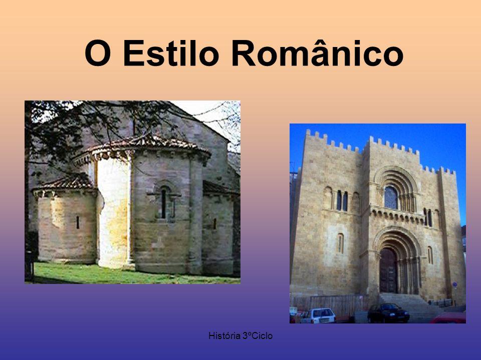 História 3ºCiclo O Estilo Românico