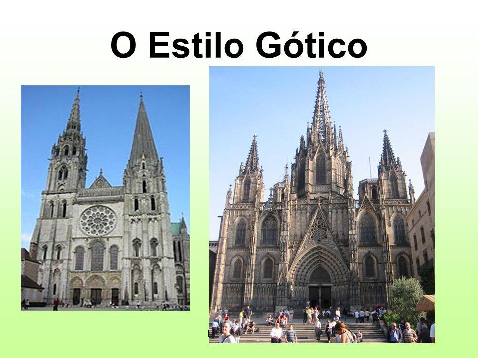 História 3ºCiclo O Estilo Gótico