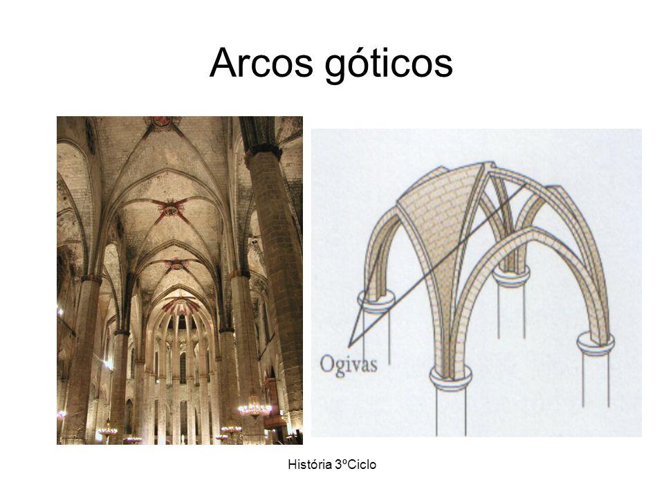 História 3ºCiclo Arcos góticos