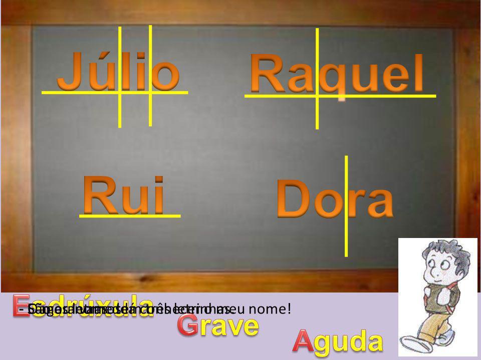 - Eu lembro-me disso.– exclamou a Raquel. – O professor Artur falou-nos disso no 3º ano.