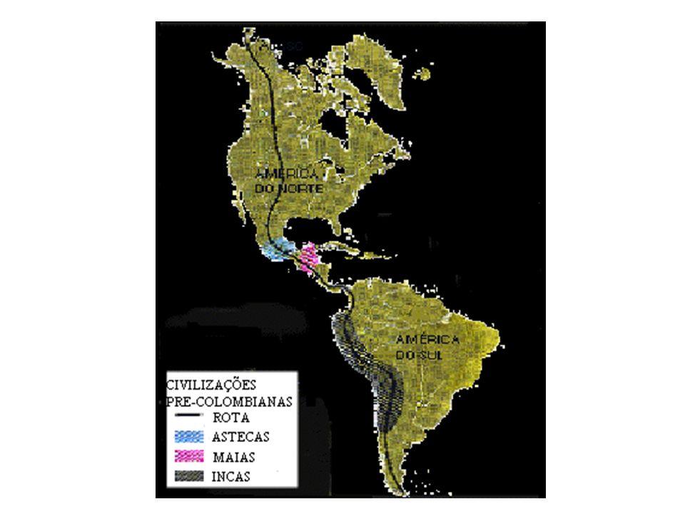 ASTECAS Absorviam a cultura dos povos vencidos e de outras civilizações; Grandes conhecimentos em astronomia, calendários, arquitetura, navegação; Monarquia teocrática militar; Cidades-estado; Sociedade estratificada; Capital: Tenochtitlán