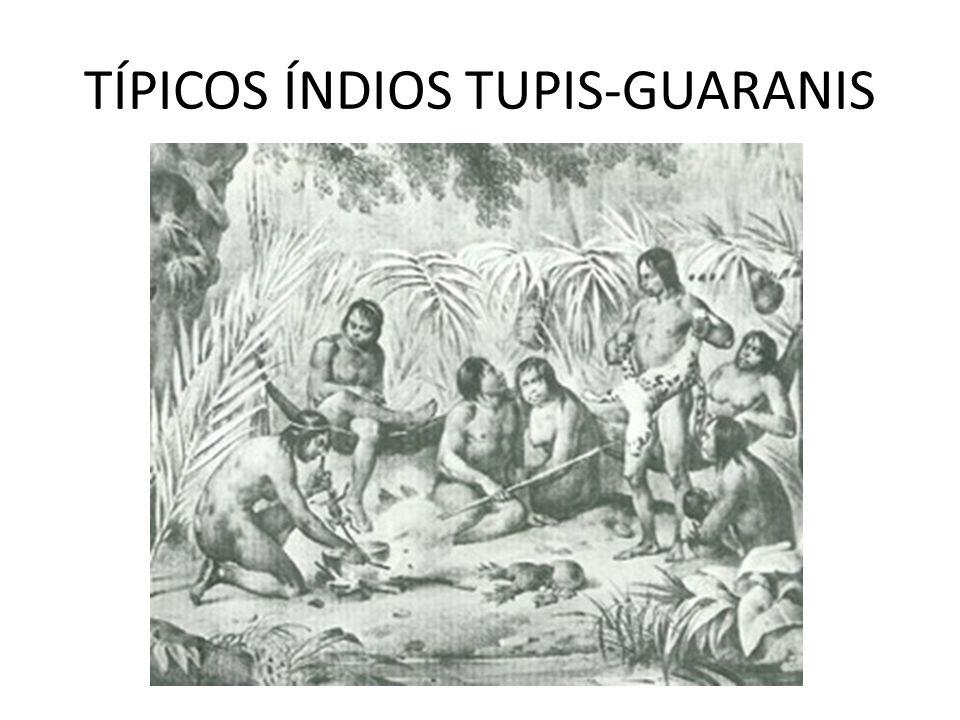 TÍPICOS ÍNDIOS TUPIS-GUARANIS