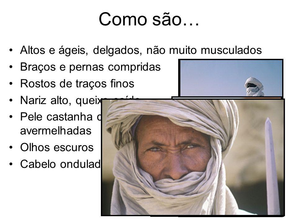 Língua oficial O árabe mas existem muitas línguas berberes.