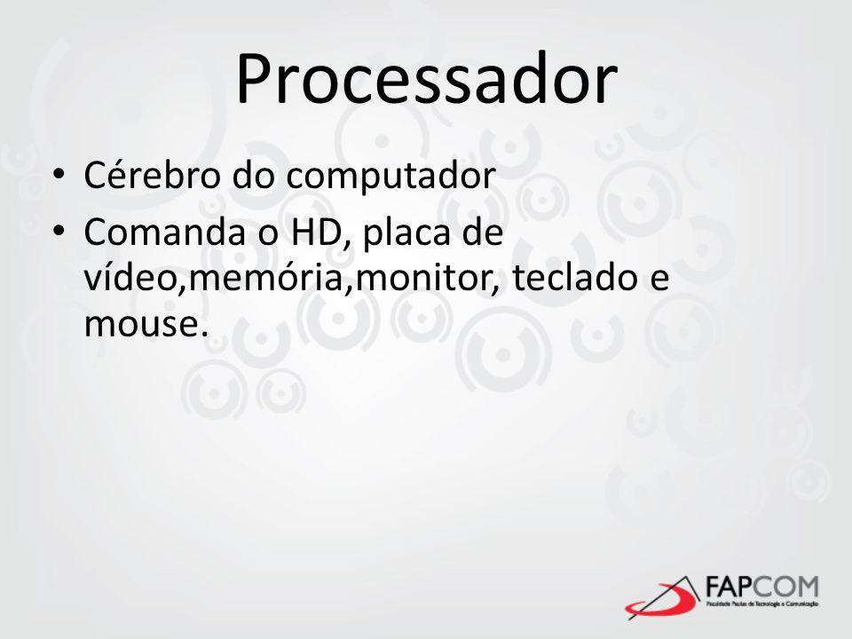 Processador 486DX2 Pentium – 100 Pentium – 200MMX K6 Pentium II K7 – Athlon Pentium III