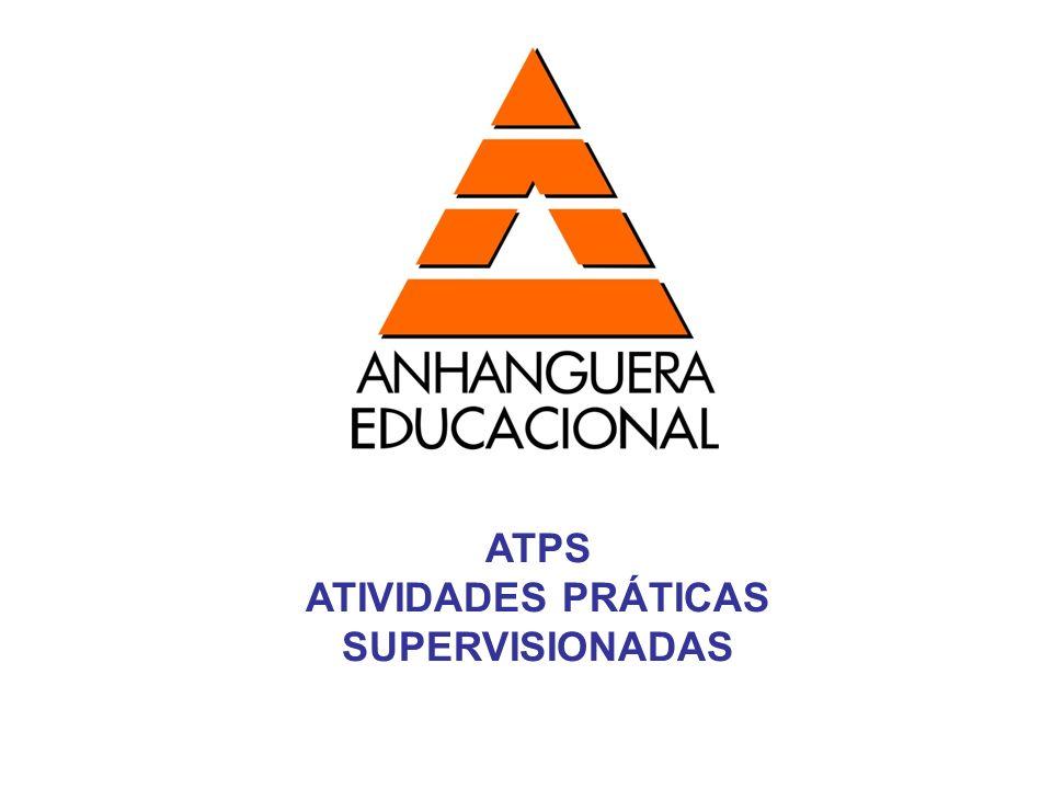 ATPS ATIVIDADES PRÁTICAS SUPERVISIONADAS