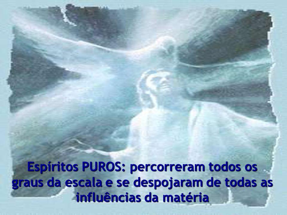 A classificação dos Espíritos funda-se no seu grau de desenvolvimento, nas qualidades por eles adquiridas e nas imperfeições de que ainda não se livra