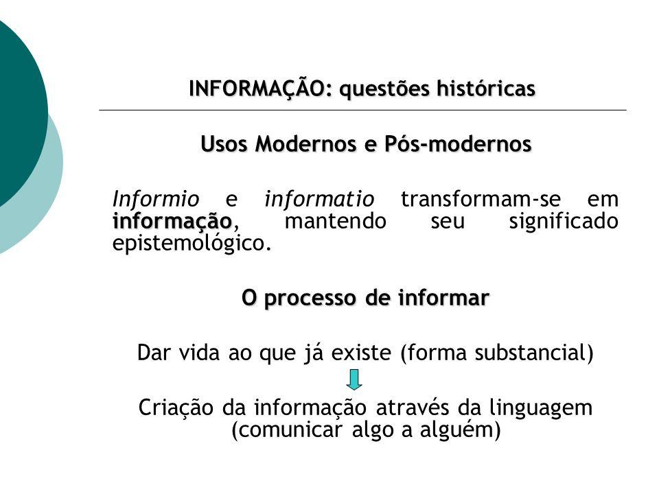 EPISTEMOLOGIA E CIÊNCIA DA INFORMAÇÃO REFERÊNCIAS Annual Review of Information Science and Technology CAPURRO, R.