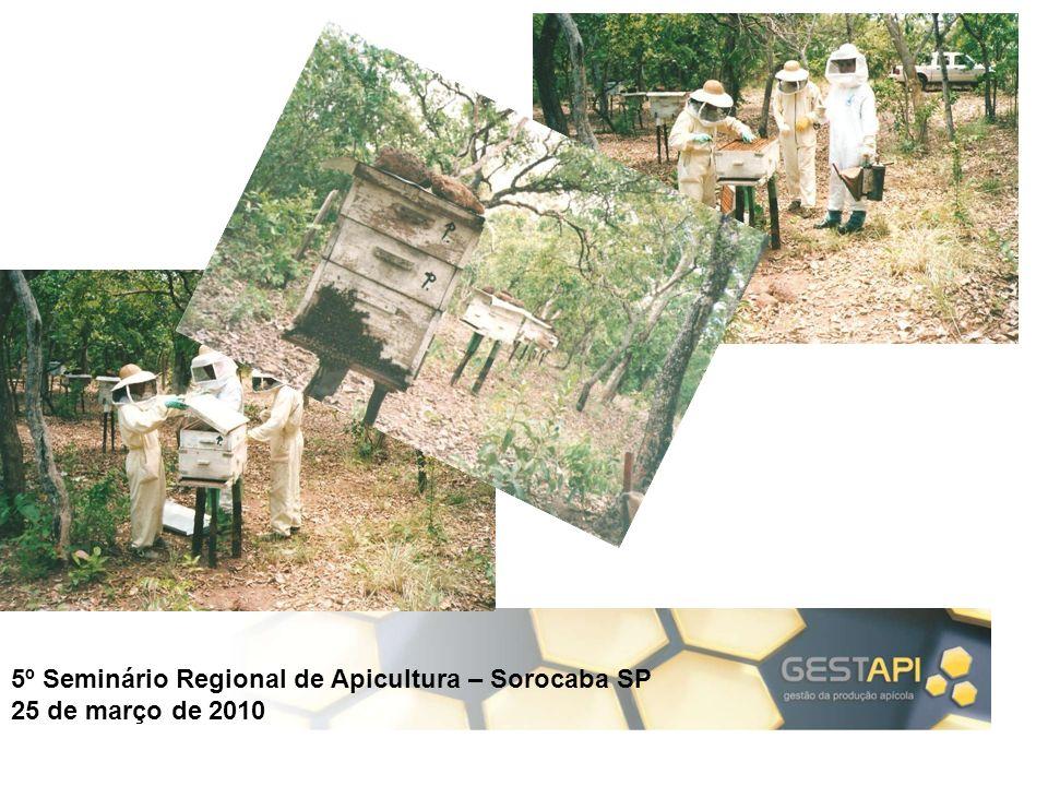 5º Seminário Regional de Apicultura – Sorocaba SP 25 de março de 2010