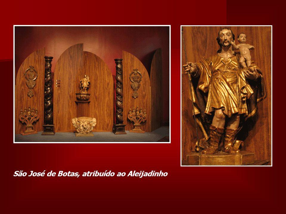 São José de Botas, atribuído ao Aleijadinho