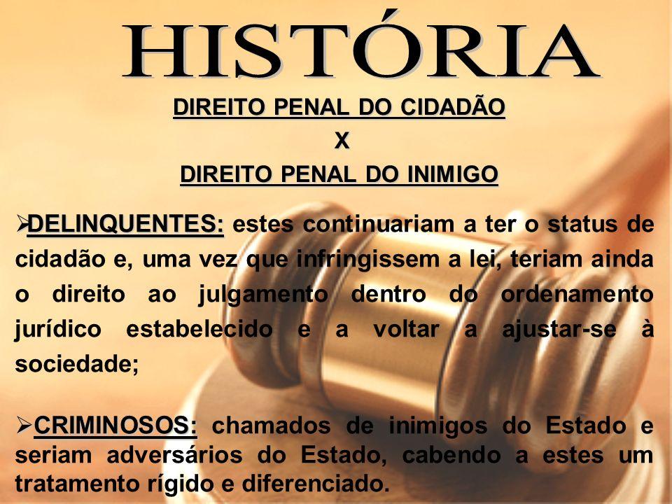 Aqui no Brasil, O Regime Disciplinar Diferenciado é um reflexo significativo do Direito Penal do Inimigo.