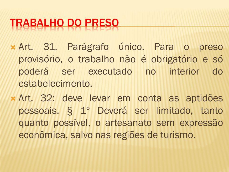 Art.31, Parágrafo único.