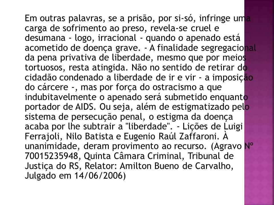 PRIVATIVA DE LIBERDADE: reclusão, detenção, prisão simples.