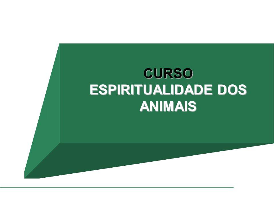 CURSO ESPIRITUALIDADE DOS ANIMAIS
