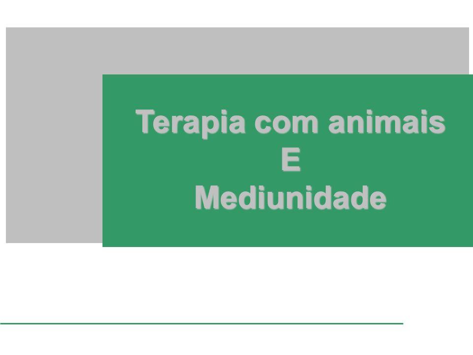 Terapia com animais EMediunidade