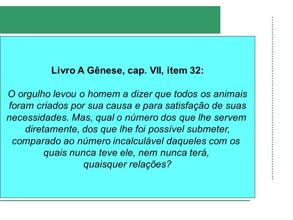 Livro A Gênese, cap.