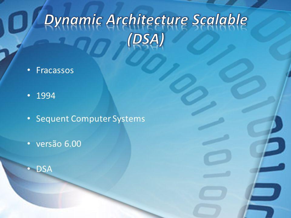 Fracassos 1994 Sequent Computer Systems versão 6.00 DSA