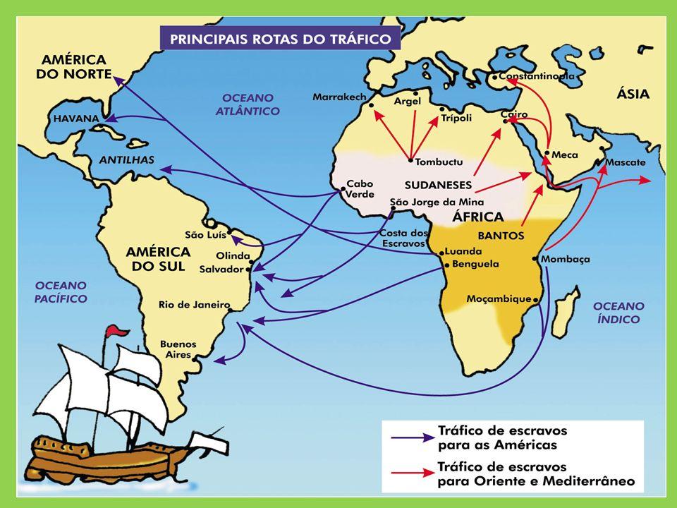 Origens do Tráfico Negreiro Tradição cultural entre as tribos da África; Bula do Papa Nicolau V (1454) concedendo aos portugueses o direito de escravi