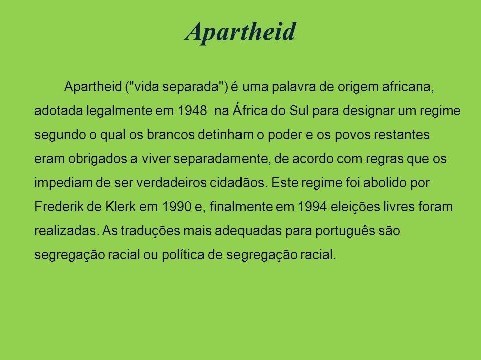 Mandela Nelson Mandela foi um líder rebelde e, posteriormente presidente da África do Sul de 1994 a 1999. Principal representante do movimento anti-ap