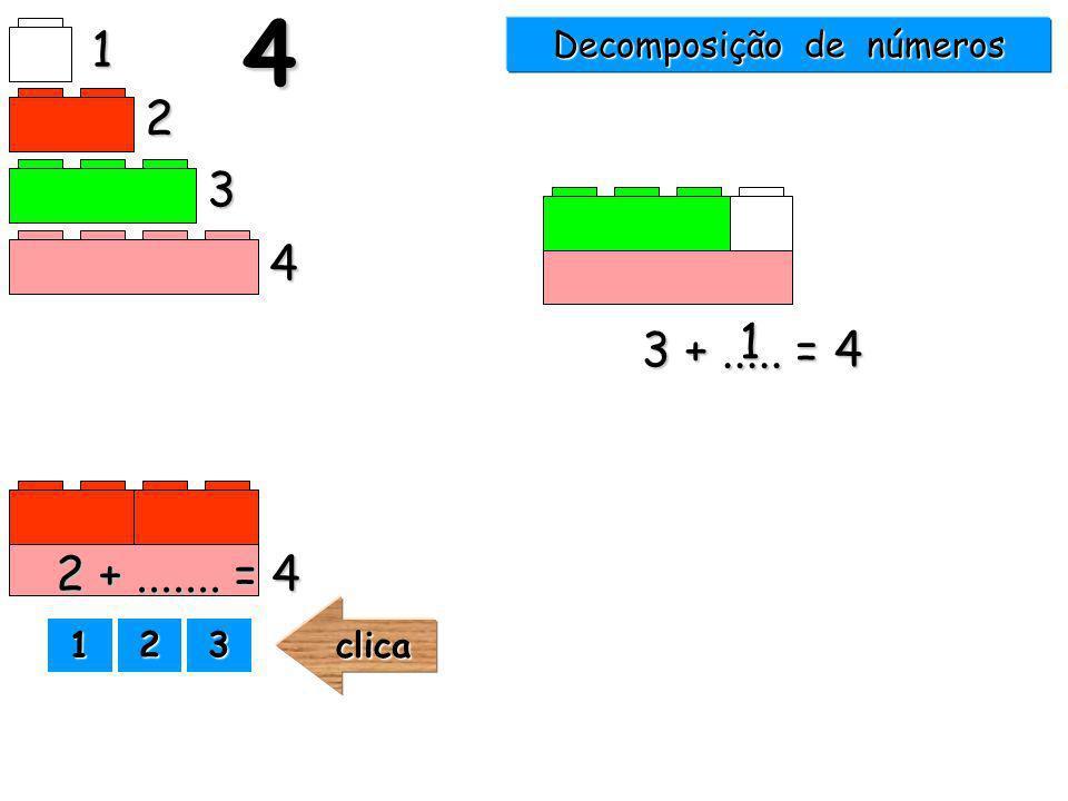 3 +..... = 4 1 2 3 4 14 1111 2222 3333clica