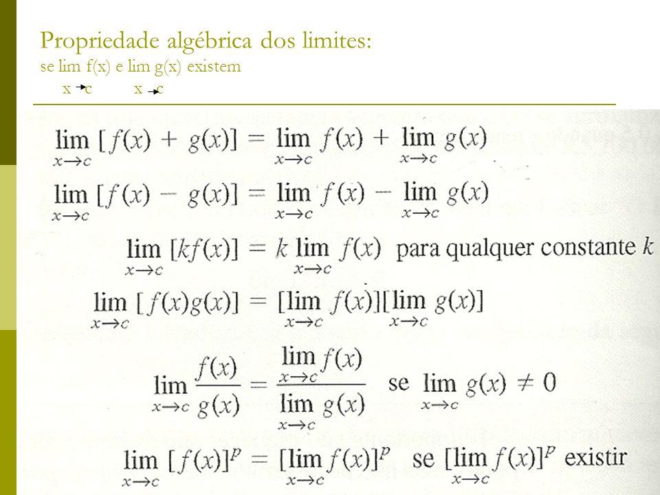 Limite de duas funções lineares Para qualquer constante k.