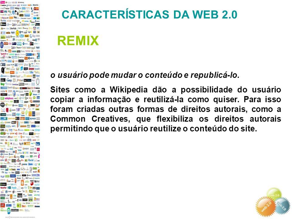 o usuário pode mudar o conteúdo e republicá-lo.