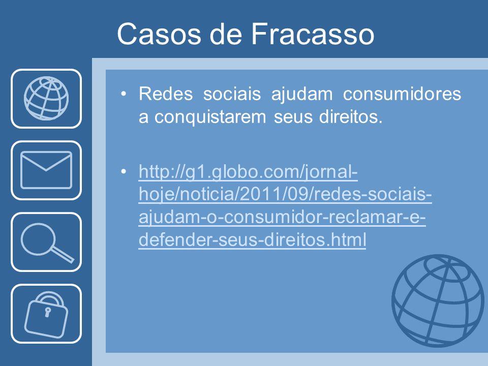 Redes sociais ajudam consumidores a conquistarem seus direitos.