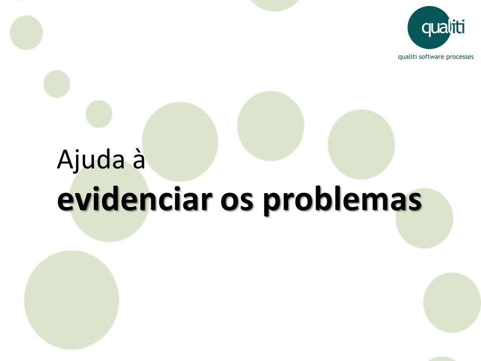 Ajuda à evidenciar os problemas