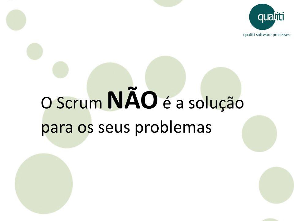 NÃO O Scrum NÃO é a solução para os seus problemas