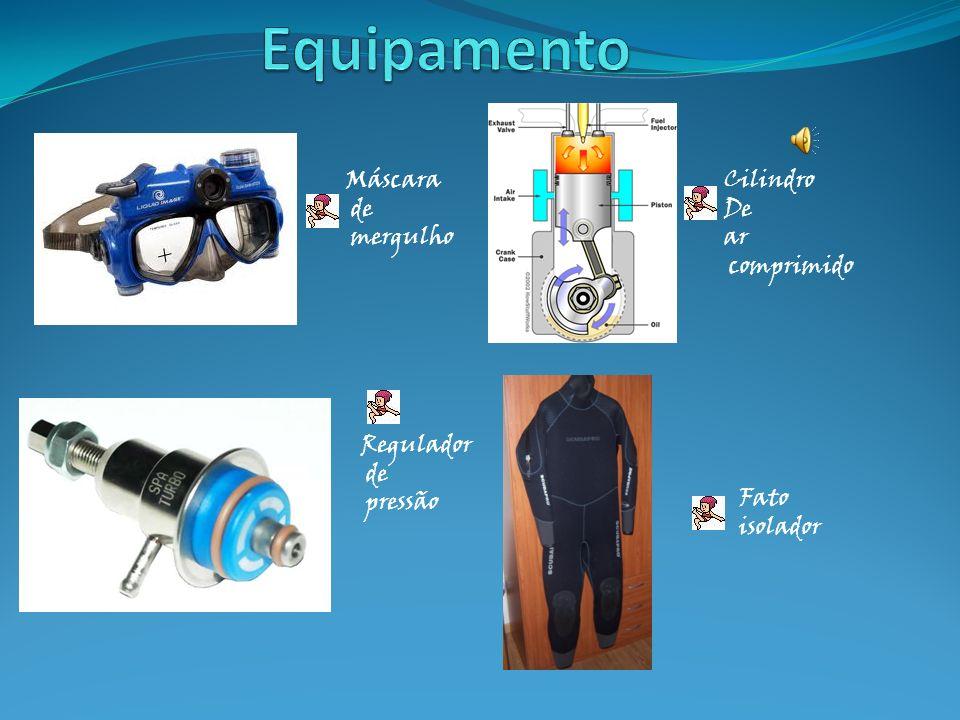 Equipamento Para um mergulho seguro, é necessário o uso uma série de equipamentos que proporcionarão tranquilidade, conforto e, obviamente, segurança