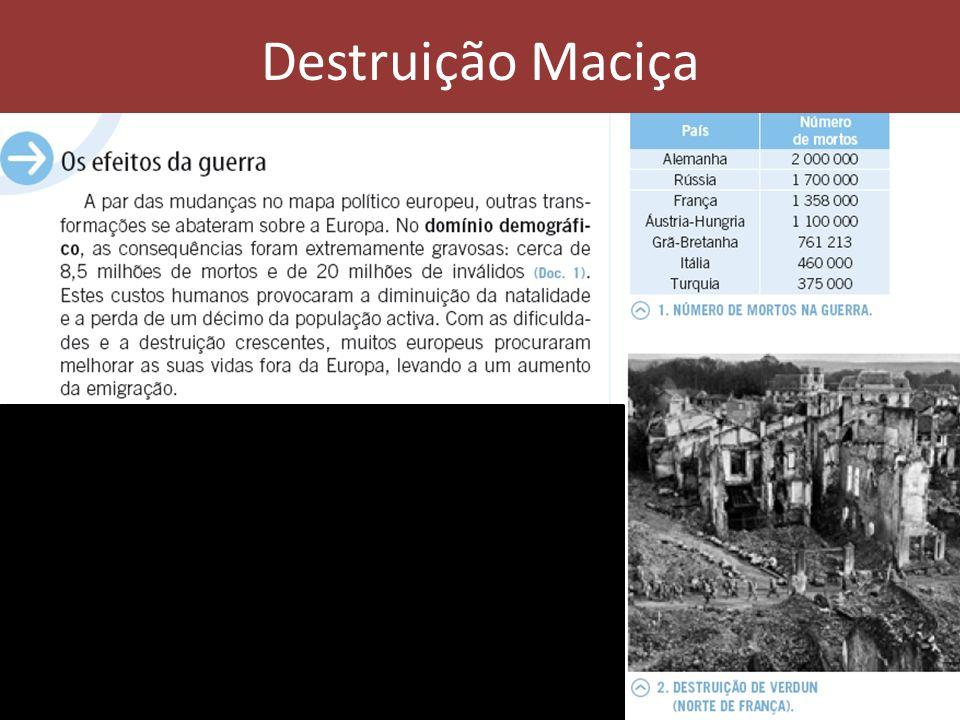 Destruição Maciça
