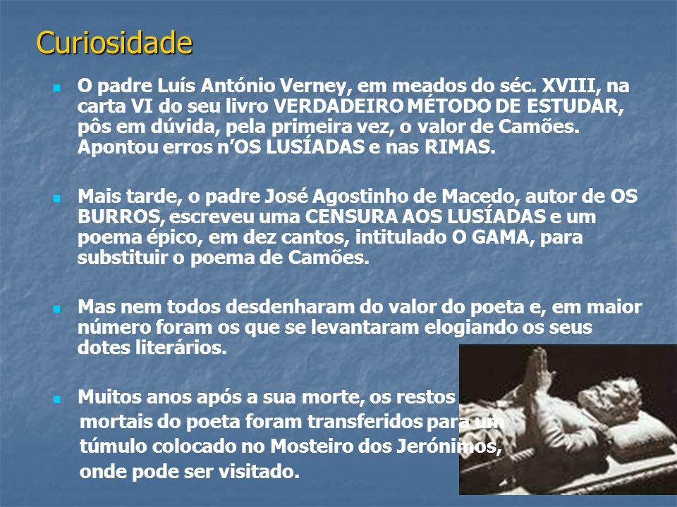 Plano da viagem viagem de Vascoda Gama A acção central do poema é a viagem de Vasco da Gama.
