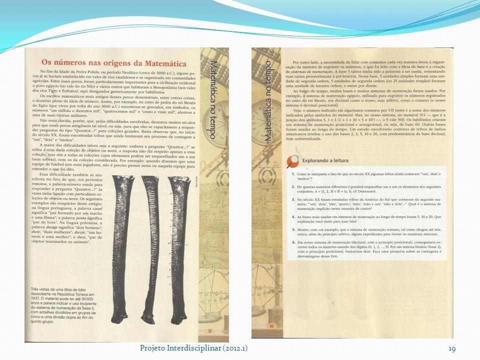 Projeto Interdisciplinar (2012.1)19