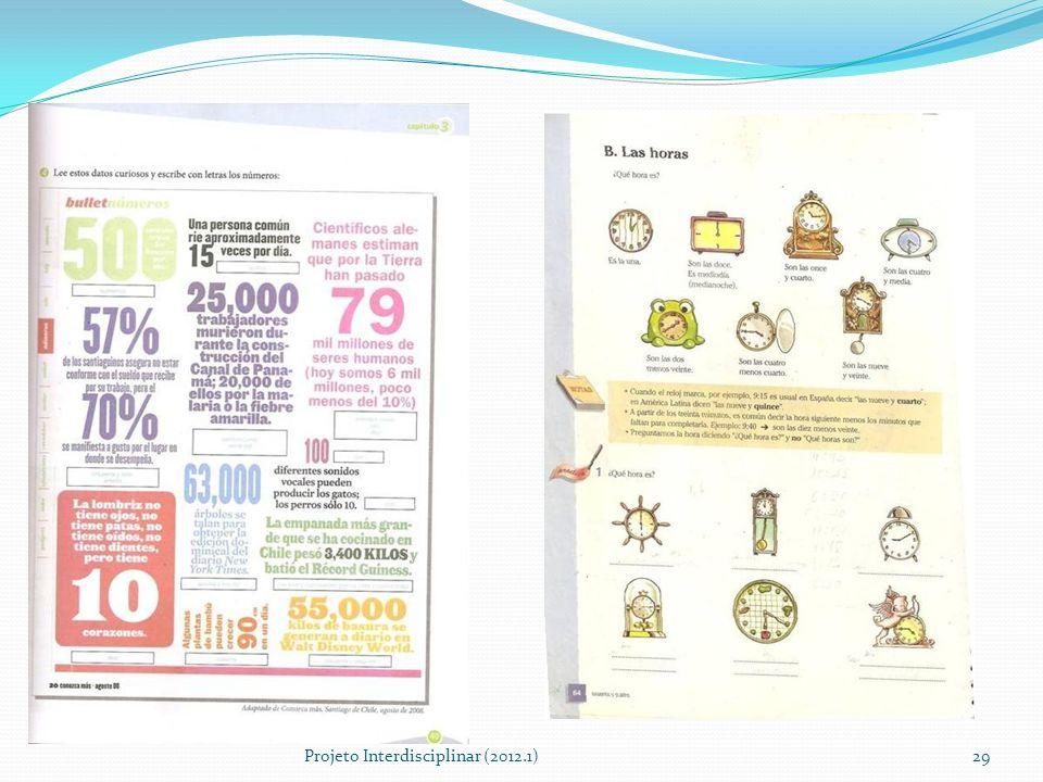 Projeto Interdisciplinar (2012.1)29