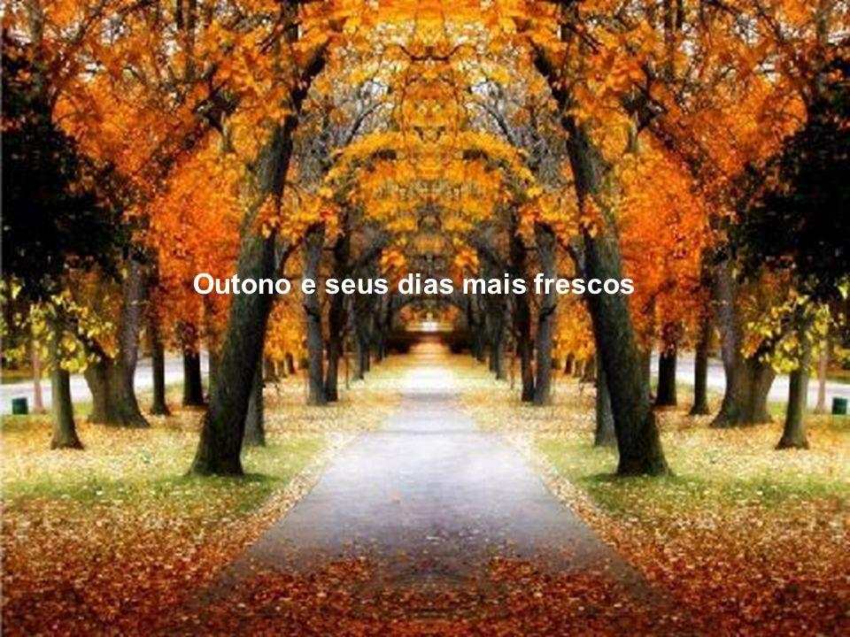 Outono e seus dias mais frescos