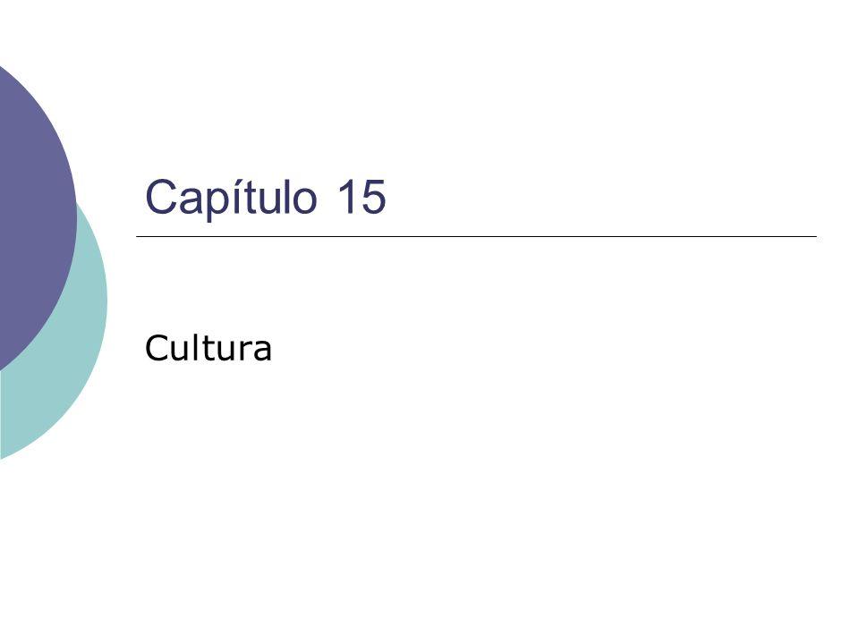 Capítulo 15 Cultura