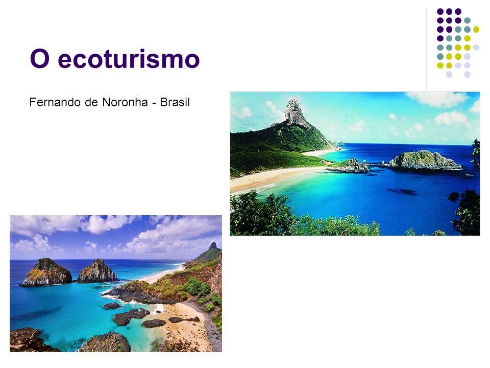 O ecoturismo Fernando de Noronha - Brasil