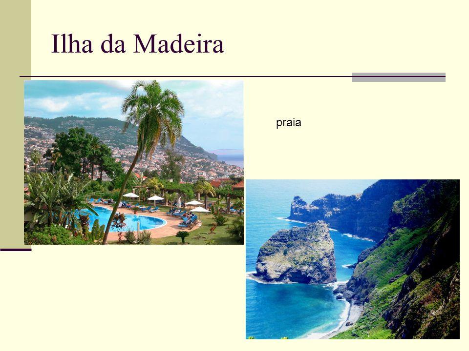 Ilha da Madeira praia