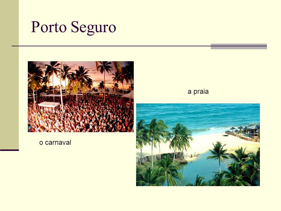 Porto Seguro o carnaval a praia
