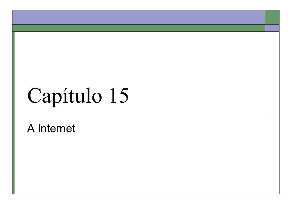 Capítulo 15 A Internet